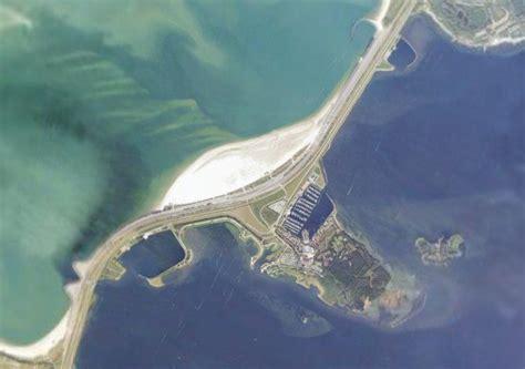 brouwersdam nederland luchtfoto van beware beach op de brouwersdam locatie