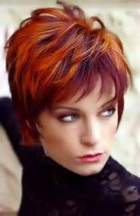 pink highlighted hair 50 10 red pixie cut short hairstyles 2016 2017 most