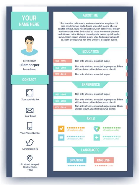 Resume About Me Creative How To Create A High Impact Graphic Designer Resume Http Www Artworkabode How To