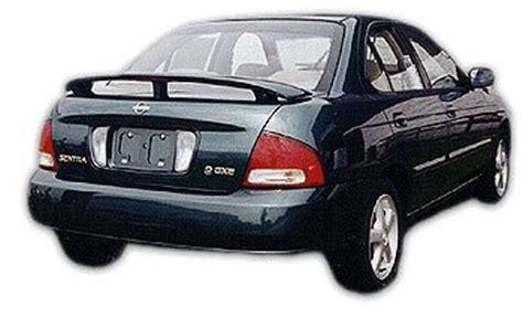 nissan sentra rear spoiler 2000 2001 2003 2004 2005 2006 painted a20 code scarlet