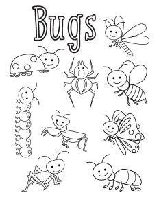 bugs activities for preschool funnycrafts