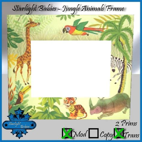 Jungle Themed Picture Frame