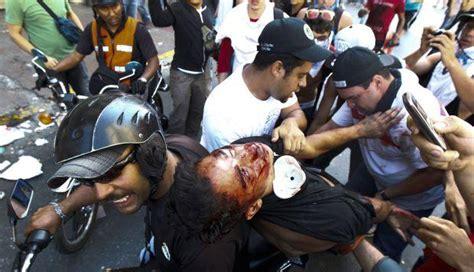 imagenes de protestas en venezuela hoy las im 225 genes censuradas de la marcha en venezuela mundo