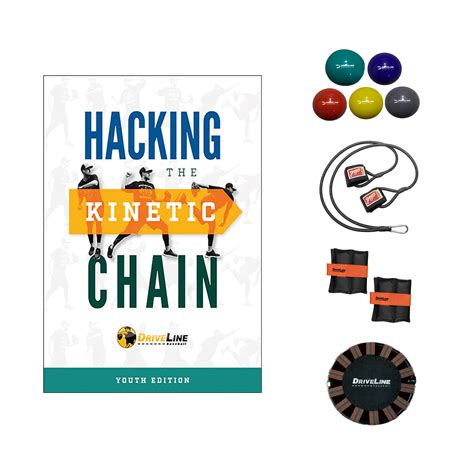 12 month arm care and throwing program books hacking the kinetic chain youth athlete kit
