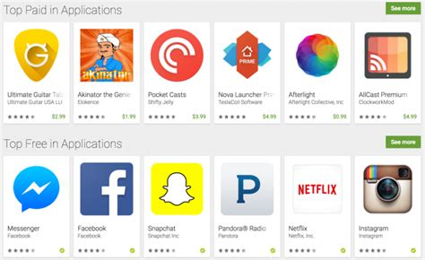 great android apps top android apps without all the revealed in play store link