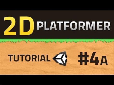 tutorial unity platform game 4a how to make a 2d platformer tiling unity tutorial