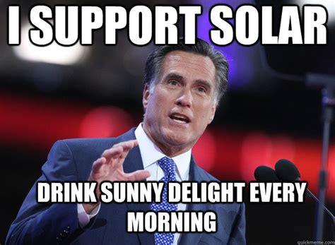 Solar Meme - mitt romney meme