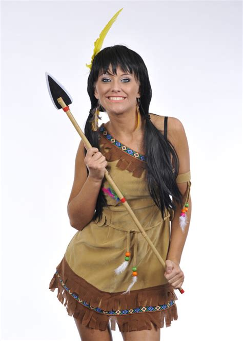 Ladies Petite Indian Squaw Costume [2968*]   Struts Party