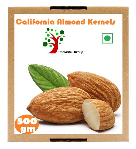 Almond Whole 500 Gram rockishii california almond kernels premium grade 500