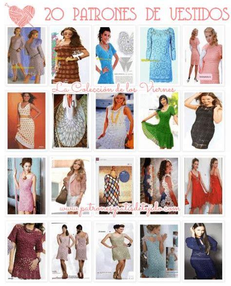 20 patrones de carpetas tejidas coleccion de los viernes 20 patrones de vestidos tejidos colecci 243 n de los viernes