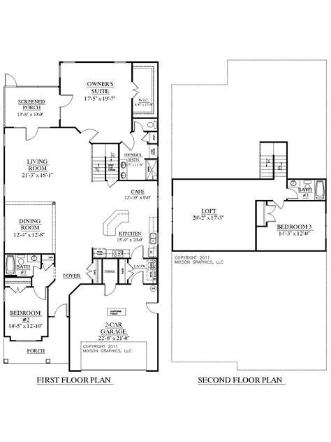 Large 3 Bedroom House Plans by House Plan 2755 Woodbridge Floor Plan Traditional 1 1 2