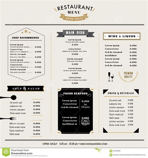 menu board design templates free 16 best menu board design images on menu board