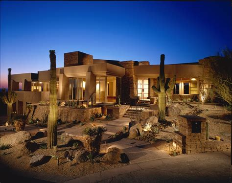 Arizona Homes by World Of Architecture Modern Desert House For Luxury In The Nature Scottsdale Arizona
