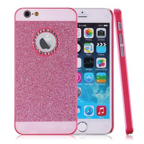 para iphone 6 4 7 quot funda carcasas tapa de pelicular brillante purpurina ebay