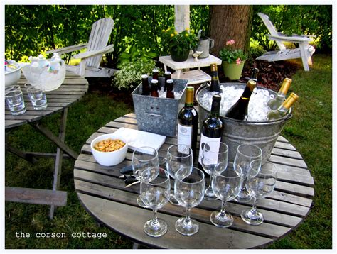 how to plan a backyard party the corson cottage outdoor entertaining backyard party