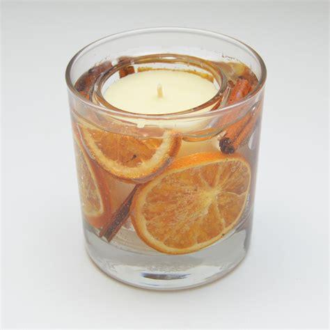 candele gel orange cinnamon scented candle gel tumbler