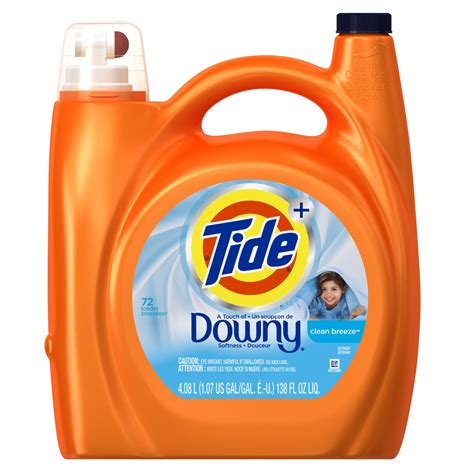 downy washer tide plus with downy laundry detergent clean 72
