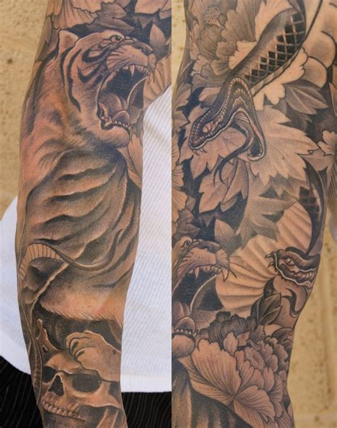 men tattoo sleeves sleeve colorful mens sleeve tattoos sleeve