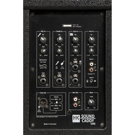 Mixer Audio Tum hk audio soundcaddy en b 228 rbara pa system p 229 gear4music