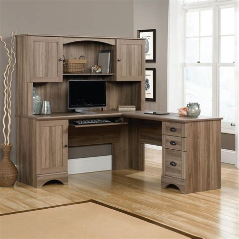 rustic l shaped computer 25 best ideas about rustic computer desk on pinterest