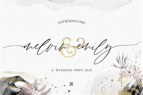 Best Elegant Fonts For Your Wedding Invites