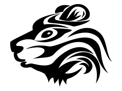 tribal bear head tattoo images designs