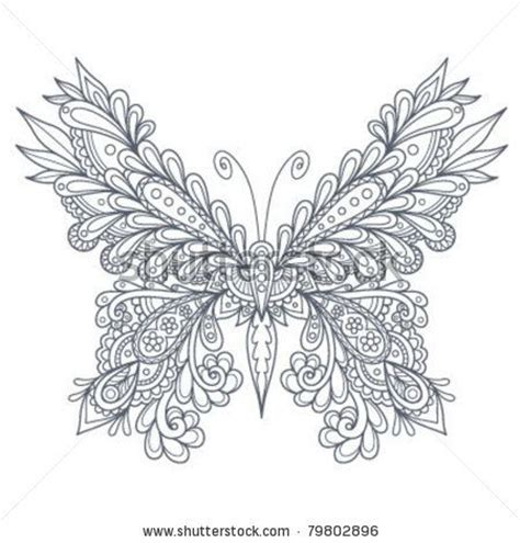 advanced butterfly coloring pages 17 best images about zentangle insects on pinterest