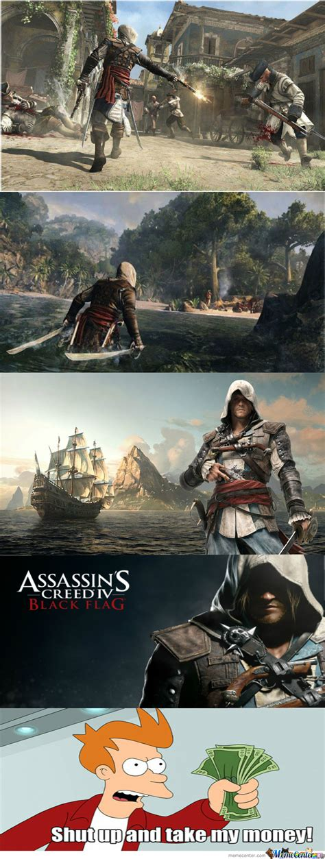 Assassins Creed 4 Memes - assassin s creed iv black flag 31 octobre 2013 by johncale