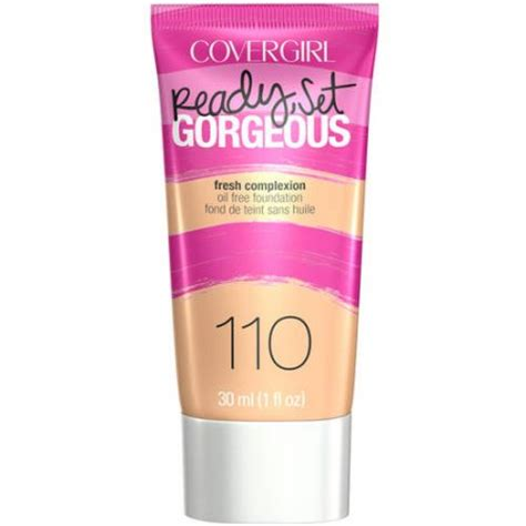 Makeup Covergirl covergirl ready set gorgeous liquid makeup foundation walmart