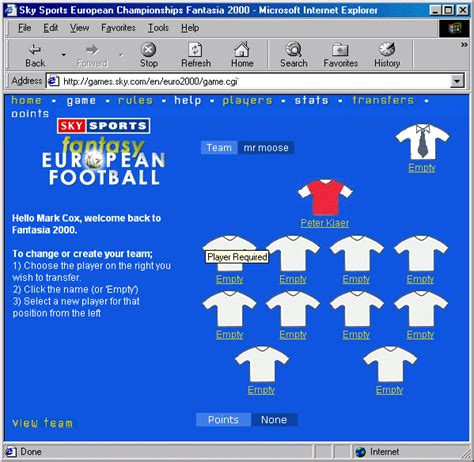 european football 2000 screenshot 1 screenshot 2