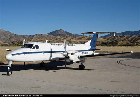 n124gp beech 1900c suburban air freight sun valley aviation jetphotos