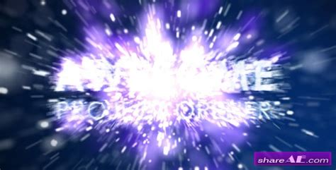 Videohive Particle Explosion Full Hd 187 Free After Effects Templates After Effects Intro After Effects Explosion Template Free