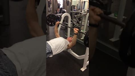 bench press demonstration barbell bench press demonstration youtube