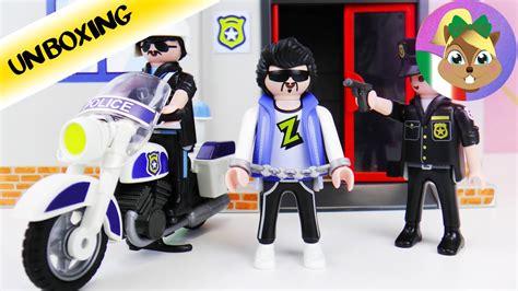 portare con se centrale di polizia da portare con s 233 centrale playmobil
