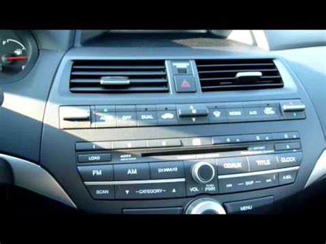 accident recorder 1996 honda accord navigation system honda accord ex l v6 youtube