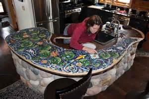 mixed media mosaic bar how to mosaic