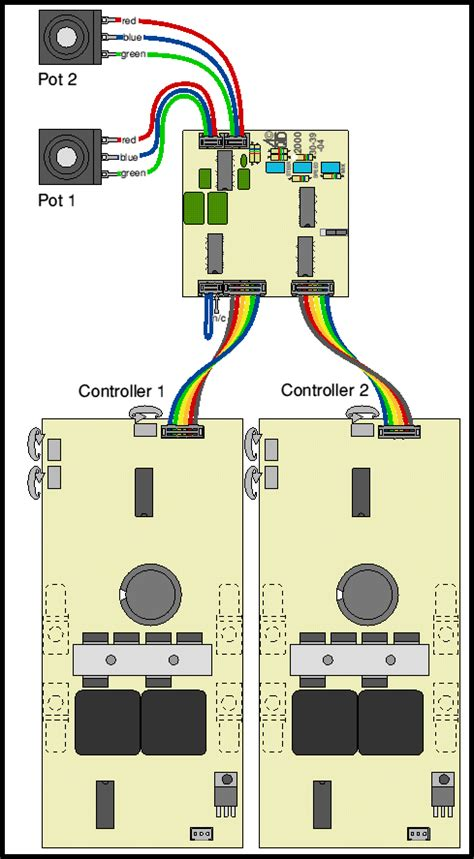 wiring diagram two potentiometers in series 28 images