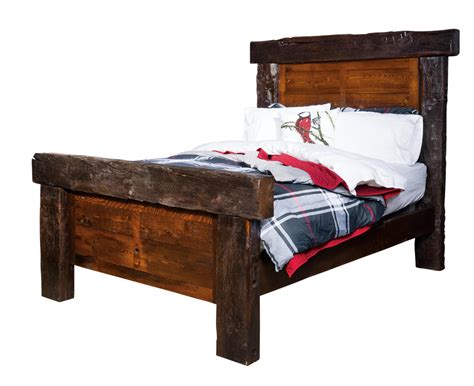 timber frame bed amish furniture store mankato mn