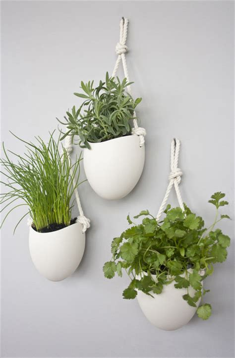Planter Indoor by Spora Ceramic Cotton Rope Planters Set Of 3