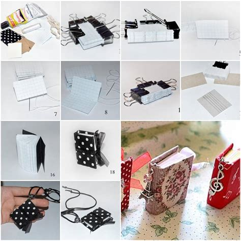 How To Make A Diy How To Make Mini Notebook Pendant Step By Step Diy Tutorial Thumb How To