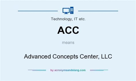 What Does Ccb Stand For by Acc Advanced Concepts Center Llc In Technology It Etc
