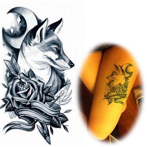animal tattoo hoax popular wolf head art buy cheap wolf head art lots from