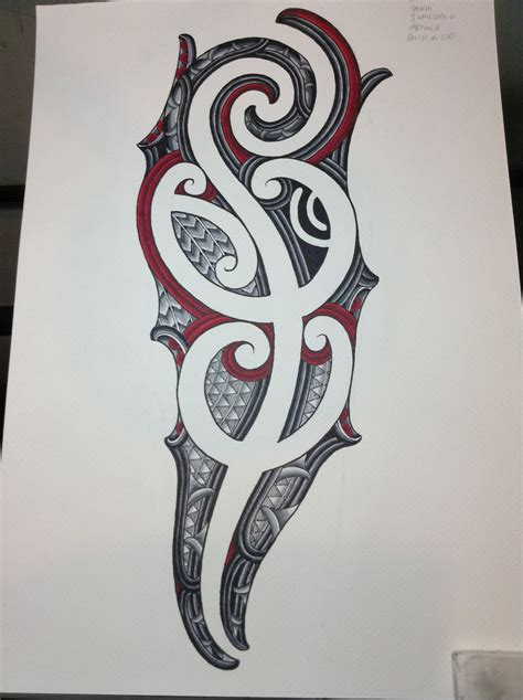 ta tattoo shops 3 4 ta moko sleeve design by jayme watene on deviantart