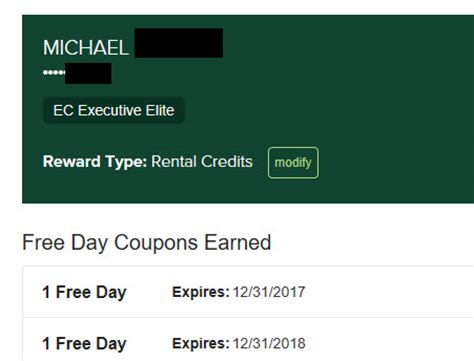 s day rental earn a free national emerald club rental day in 2016 time
