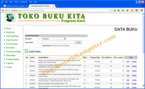 Buku 101 Template Instan Untuk Bisnis contoh website penjualan buku