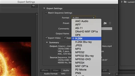 best format to export adobe premiere for youtube how to properly export video for facebook