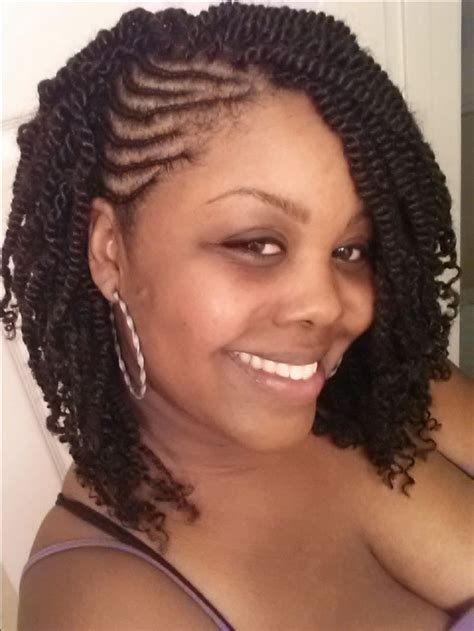 Cornrow And Twist Hairstyle Pics | cornrows with twists twist pinterest