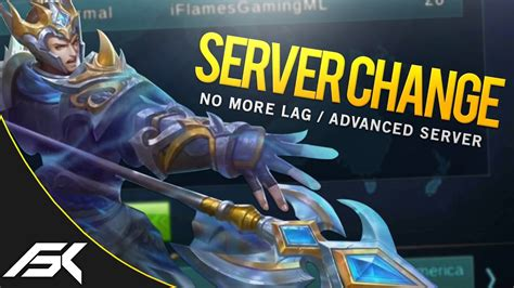 change mobile legend mobile legends new server change feature lag fix