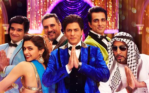 vidio film india bollywood terbaru king khan kino happy new year