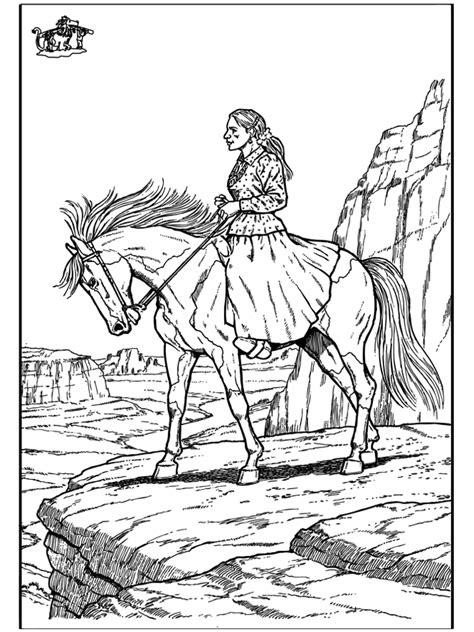 paard  kleurplaten paarden